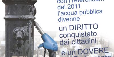 Acqua Pubblica Bene Comune